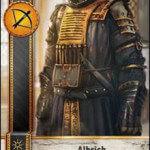 Albrich Gwent card