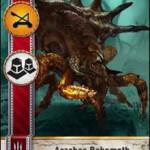 Arachas Behemoth Gwent card