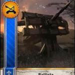 Ballista Gwent Card