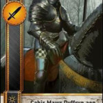Cahir Mawr Dyffryn aep Ceallach Gwent card
