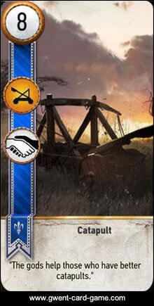 Catapult Gwent Card - Witcher 3