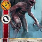Celaeno Harpy Gwent card
