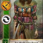 Dol Blathanna Scout Gwent card
