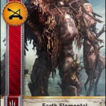 Earth Elemental Gwent card
