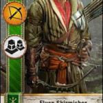 Elven Skirmisher3 Gwent Card