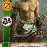 Elven Skirmisher Gwent Card