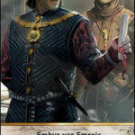 The White Flame Gwent Leader card