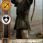 Etolian Auxiliary Archers Gwent Card