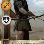 Etolian Auxiliary Archers 2 Gwent card