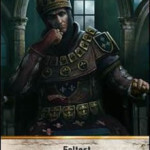The Siegemaster Gwent Leader card