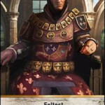The Steel-Forged Gwent Leader card