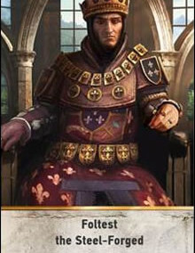 Foltest-the-Steel-Forged-gwent-card