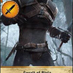 Geralt of Rivia Gwent card
