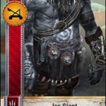 Ice Giant Gwent card
