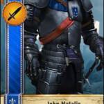John Natalis Gwent Card