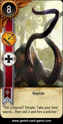 Kayran Monster Card