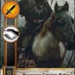 Nausicaa Cavalry Brigade Gwent card