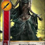 Plague Maiden Gwent card