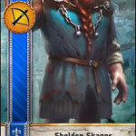 Sheldon Skaggs Gwent Card