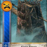 Siege Tower Gwent card