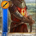 Siegfried of Denesle Gwent Card