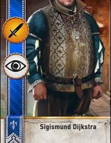 Sigismund-Dijkstra-gwent-card