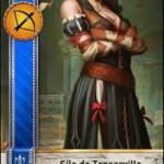Síle de Tansarville Gwent Card