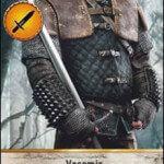 Vesemir Gwent Card