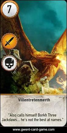 Villentretenmerth Gwent Card