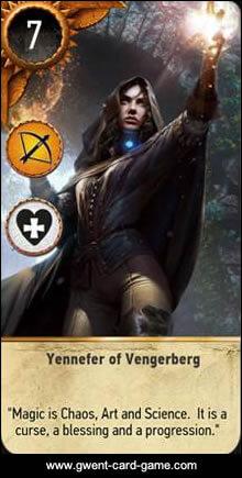Yennefer Gwent card