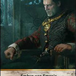 The Relentless Gwent Leader card