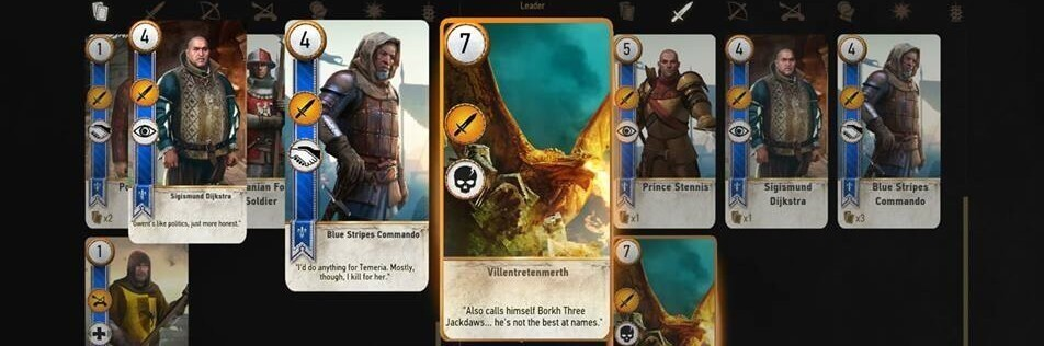 collect em all  gwent quest  gwentcards  witcher 3