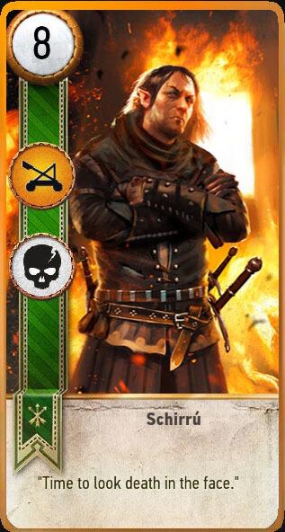 Schirru Gwent Card