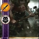 berserker gwent card blood and wine dlc